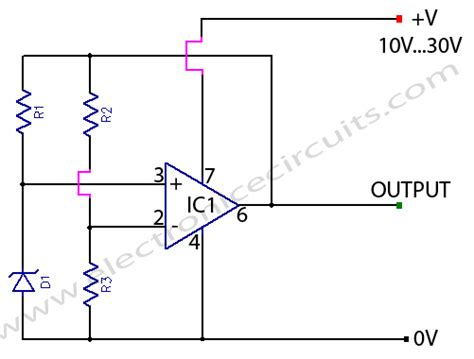 circuit diode zener variable zener diode zener electronic circuits