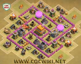 Best Base Town Hall 6 Coc » Home Design 2017