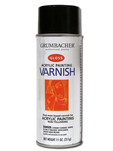 Varnish Acrylic Grumbacher Acrylic Painting Varnish Misterart