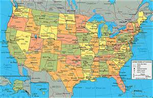 us map of cities and towns united states map with state names and cities maps of usa