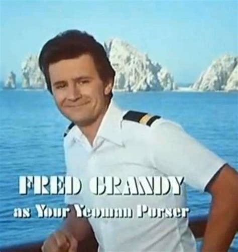 did gopher from love boat died pillow talking s interview with fred grandy pillow