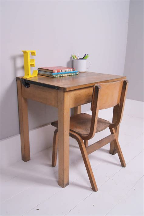 children desks children s vintage single school desk with chalkboard lid