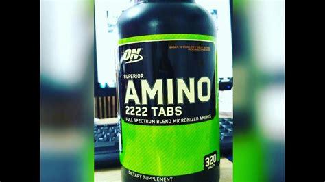 Suplemen Amino 2222 Amino 2222 Unboxing Suplemen From Lazada Indonesia