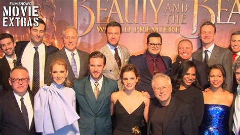 beauty and the beast cast beauty and the beast world premiere with cast interview