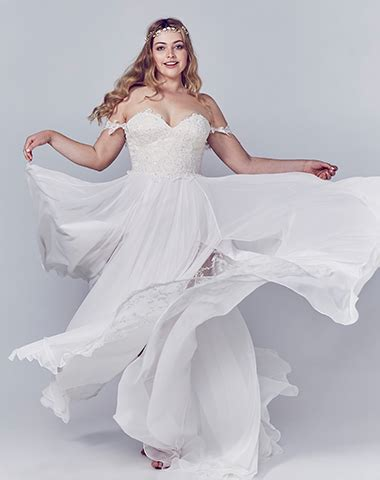 Wedding Dresses Daytona by Curvaceous Bridal Gowns Collection By