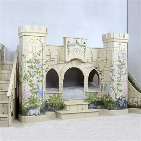 little girl castle bed castle bed for little girl princess for the home pinterest