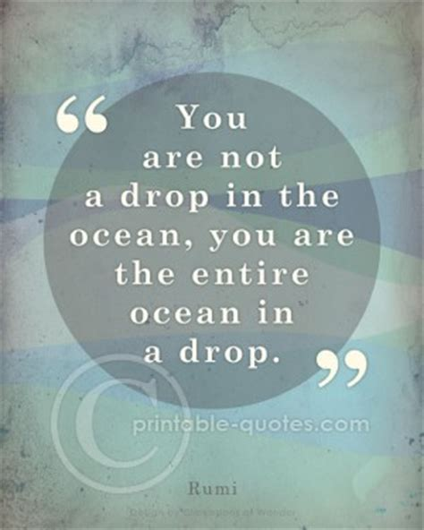 printable rumi quotes rumi water quotes quotesgram