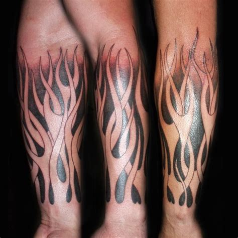 fire tattoos for men gallery for