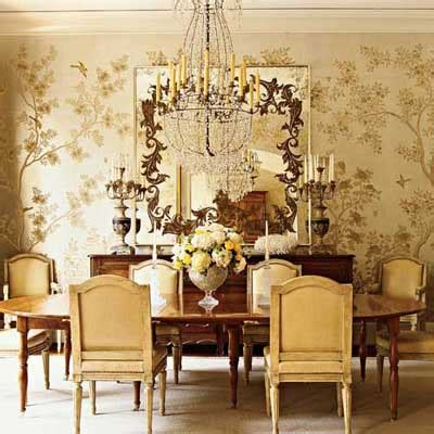 gold wallpaper dining room gilded in gold gorgeous the enchanted home