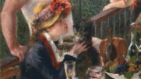 luncheon of the boating party pierre auguste renoir luncheon of the boating party