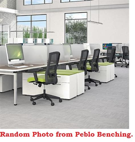 office bench seating the office leader peblo 4 person 24 quot x 60 quot bench seating office desk workstation