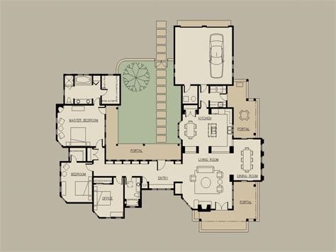 house plan with courtyard hacienda home plans hacienda style house plans with
