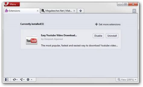 download youtube extension opera easy youtube video downloader megaleecher net