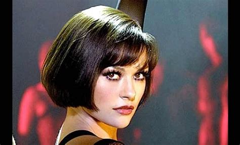 chicago style hair gorgeous bob haircut catherine zeta jones as velma kelly