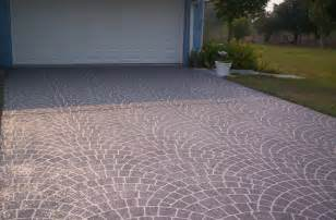 Concrete Patio Paint by Painting Concrete Patio Stencil 187 Design And Ideas