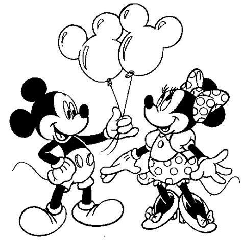 coloring pages of baby mickey mouse and friends mickey mouse coloring pages free