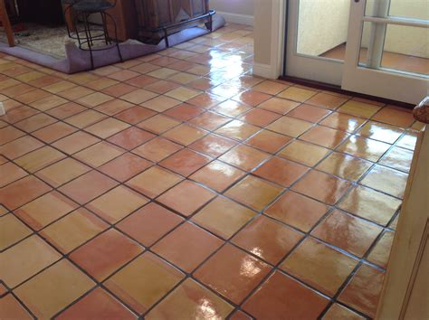saltillo tile is a mexican tile that has was developed from