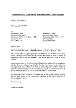 Appeal Letter Introduction 11 Best Images About Sle Admission Letters On Teaching Student And Clinton N Jie