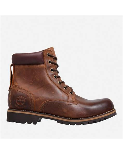 timberland earthkeepers rugged brown timberland earthkeepers rugged waterproof boots in brown for lyst