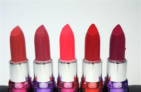 Kosmetik Maybelline Lengkap 7 matte lipstick di bawah 50 ribu dari orami