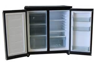 Cabinet Front Refrigerator Fridge Freezer Combination With Stainless Steel Doors 156litre