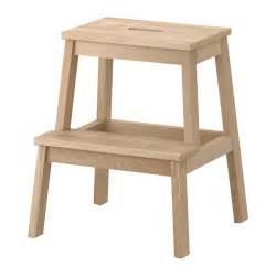 Kids Wooden Step Stool For Bathroom - bekv 196 m tritthocker ikea
