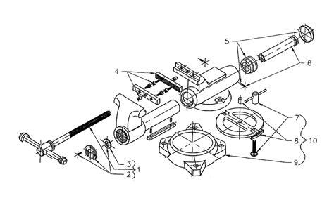 diagram of a bench vice wilton 10031 600s parts list wilton 10031 600s repair