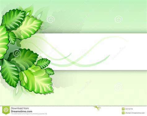 background design leaves abstract background green leaves stock vector