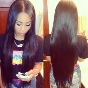 middle parting weave hairstyles laid lace closure ok i m getting a sew in pinterest