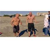 Photos Dana White Looking Shredded With Shirt Off On