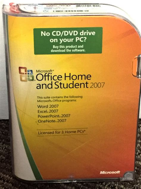 office 2007 home and business microsoft office home and student 2007 office business