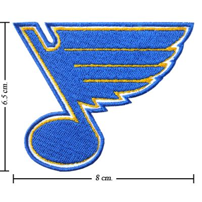50 dollar sew in st louis st louis blues style 1 embroidered sew on patch