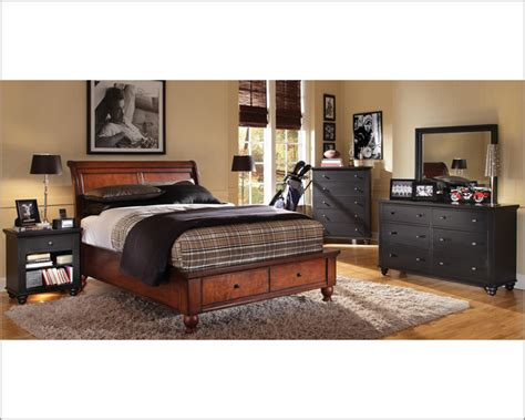 Aspen Cambridge Bedroom Set aspenhome storage bedroom cambridge in black asicb