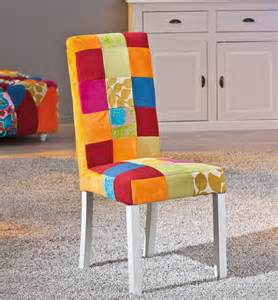 Dining Room Table Protector by Chaise De Salle 224 Manger Design En Tissu Patchwork