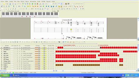 tutorial guitar pro 5 guitar pro 5 tutorial como descargar poner tablaturas