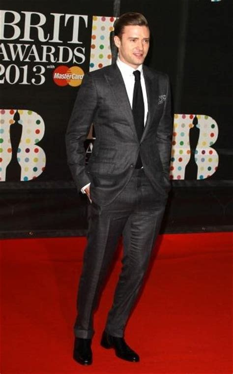 style for justin timberlake wore a tom ford charcoal