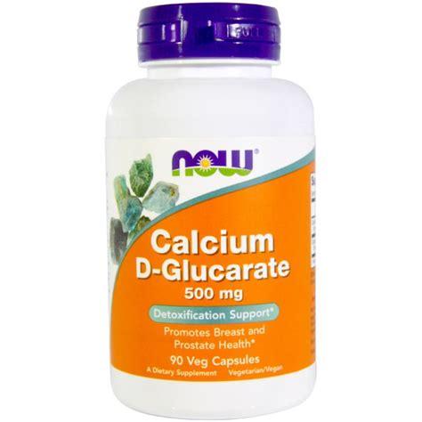 Calcium D Glucarate Liver Detox by Now Foods Calcium D Glucarate 500 Mg 90 Veggie Caps Na