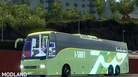 download game euro truck simulator 2 bus mod indonesia volvo bus mod with indian volvo b7r b9r b11r passengers