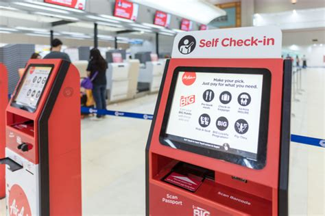 Airasia Group Check In | airasia scraps check in counters at kl