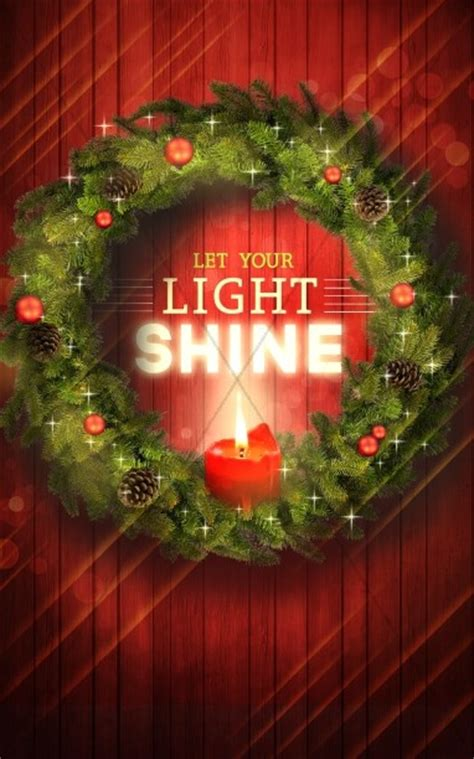 light shine christmas ministry bulletin