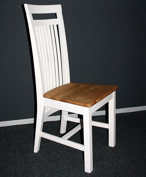 stuhl weiß holz landhaus stuhl aus holz holzstuhl st 252 hle kiefer massiv wei 223 gelaugt