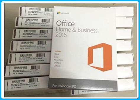 office home and business 2016 microsoft office home and business 2016 english for