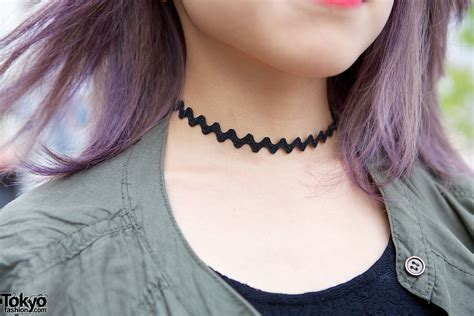 tattoo necklace choker choker or necklace tokyo fashion news