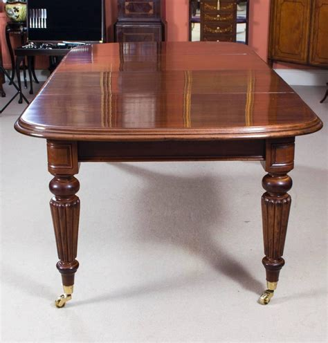 antique victorian dining table  admiralty  chairs