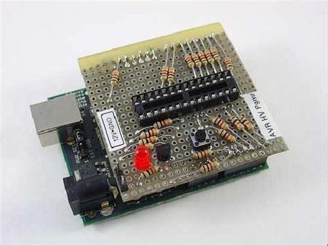 high voltage serial programming avr programador avr de alto voltaje con arduino bricogeek