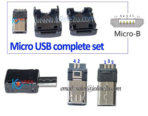 Usb Connector micro usb av cable pinout style by modernstork