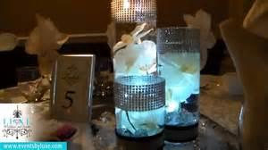 black and silver wedding centerpieces 2014 silver black and white wedding decor by luxe weddings