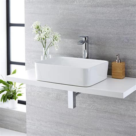 lavabo bagno rettangolare lavabo bagno da appoggio rettangolare in ceramica