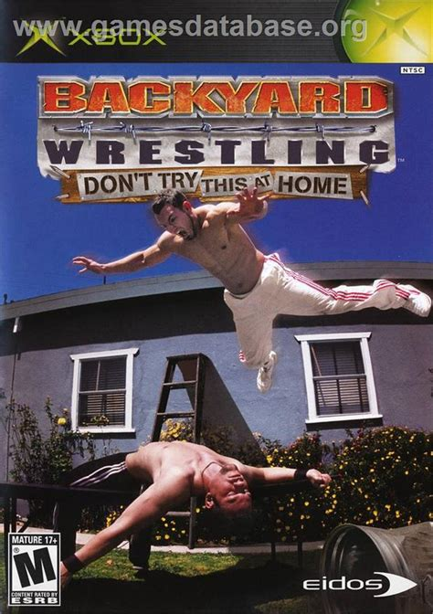 backyard wrestling xbox backyard wrestling don t try this at home microsoft