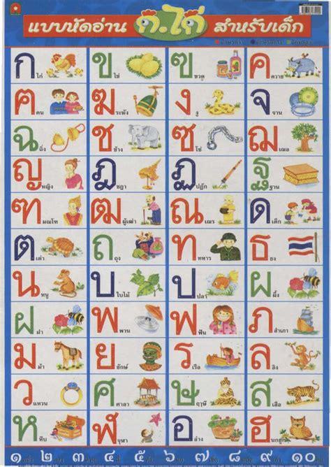 printable thai alphabet flash cards search results for alphabet chart printable calendar 2015